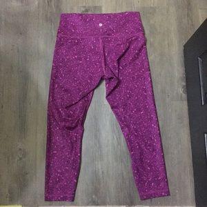 lululemon athletica Pants - Lululemon HIGH TIMES PANT FULL-ON LUXTREME, 12